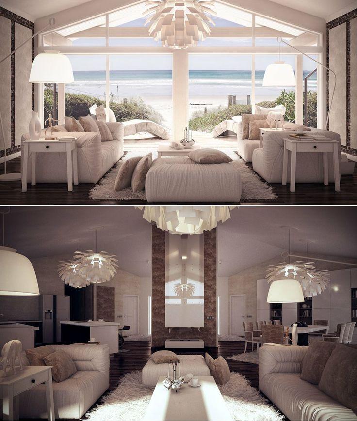 Modern Interior Design, Living room.