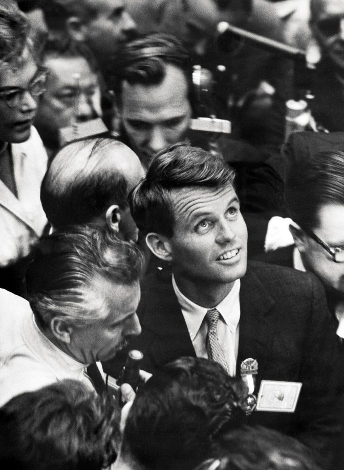 "Robert F. Kennedy's last words to his wife after being shot: ""Is everyone else all right?""  Terrible when he was assassinated. The country mourned again for another Kennedy."