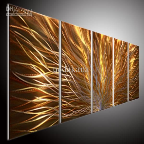 Wholesale WALL ART - Buy HUG MODERN ART WALL ART METAL PAINTING SCULPUTRE ART WALL OIL PAINTING ABSTRACT ART 20121213N YELLOW, $163.1 | DHgate