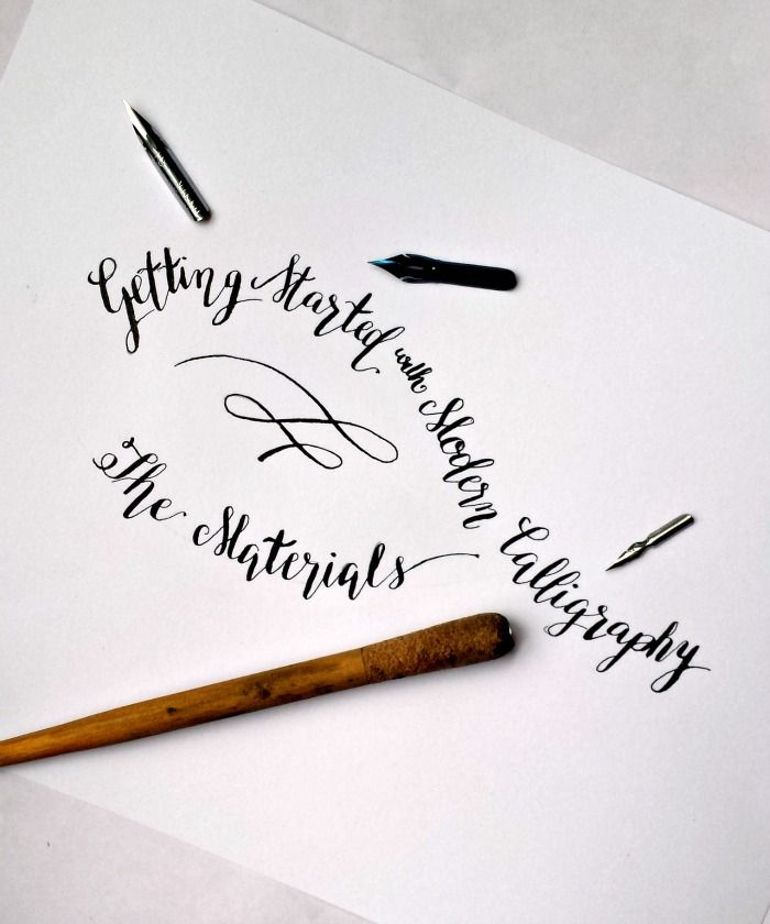 M s de 1000 ideas sobre modern calligraphy tutorial en Where to learn calligraphy