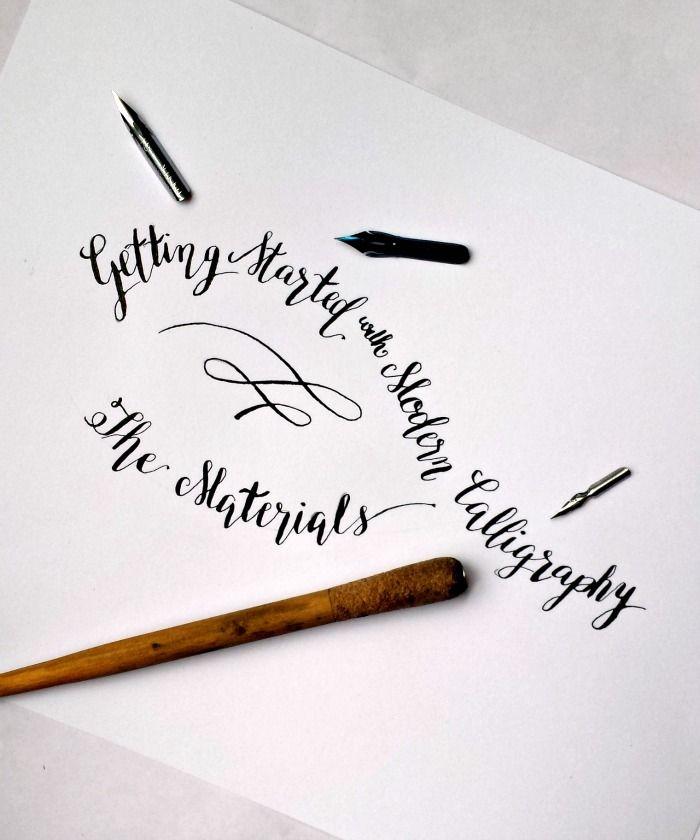 M S De 1000 Ideas Sobre Modern Calligraphy Tutorial En