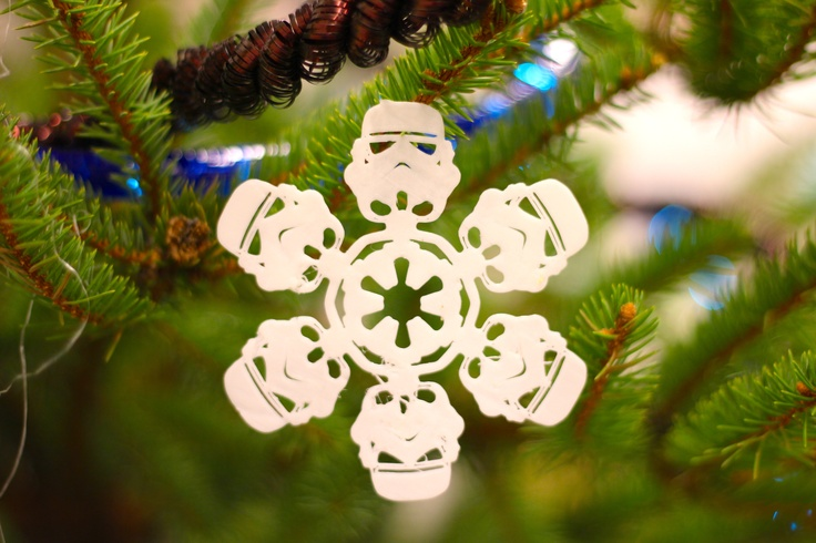 star wars 3d printed Christmas ornament