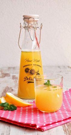 Galeria Smaku: Lemoniada z ananasa i grejpfruta