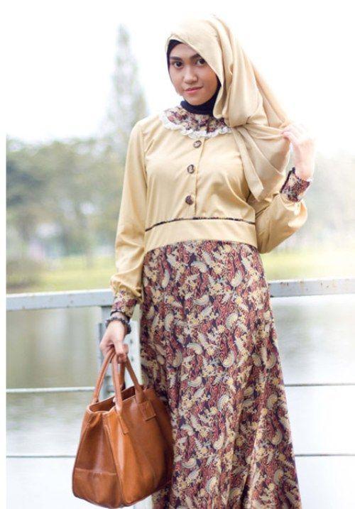 29 best batik images on Pinterest  Hijabs Batik muslim and Muslim
