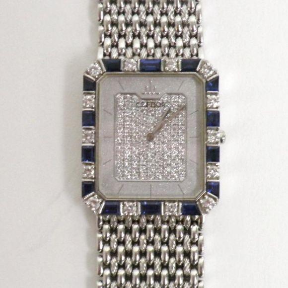 【中古】SEIKO(セイコー) クレドール 5A74 5170 K18WG サファイヤ ダイヤ メンズ時計/新品同様・極美品・美品の中古ブランド時計を格安で提供いたします。