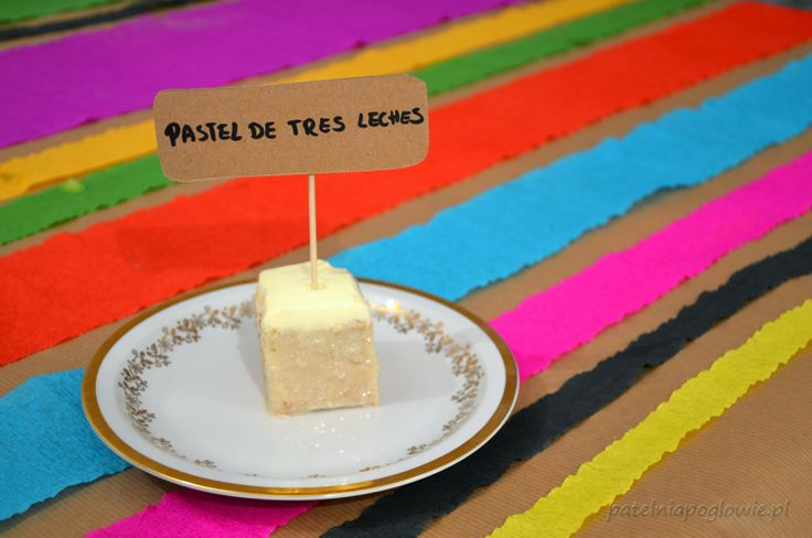 Castel de tres leches - milk cake.