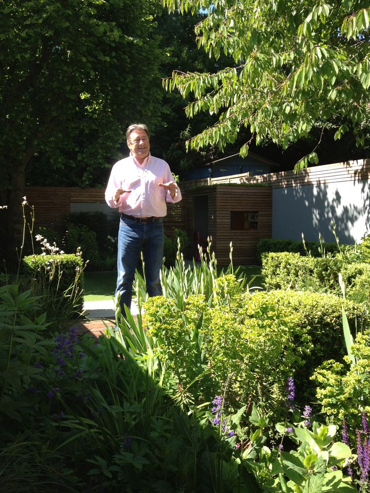 Alan Titchmarsh Filming Love Your Garden For ITV North
