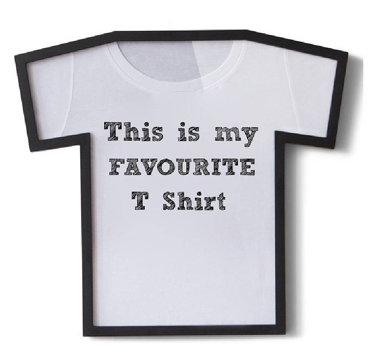 t shirt frame by thelittleboysroom | notonthehighstreet.com