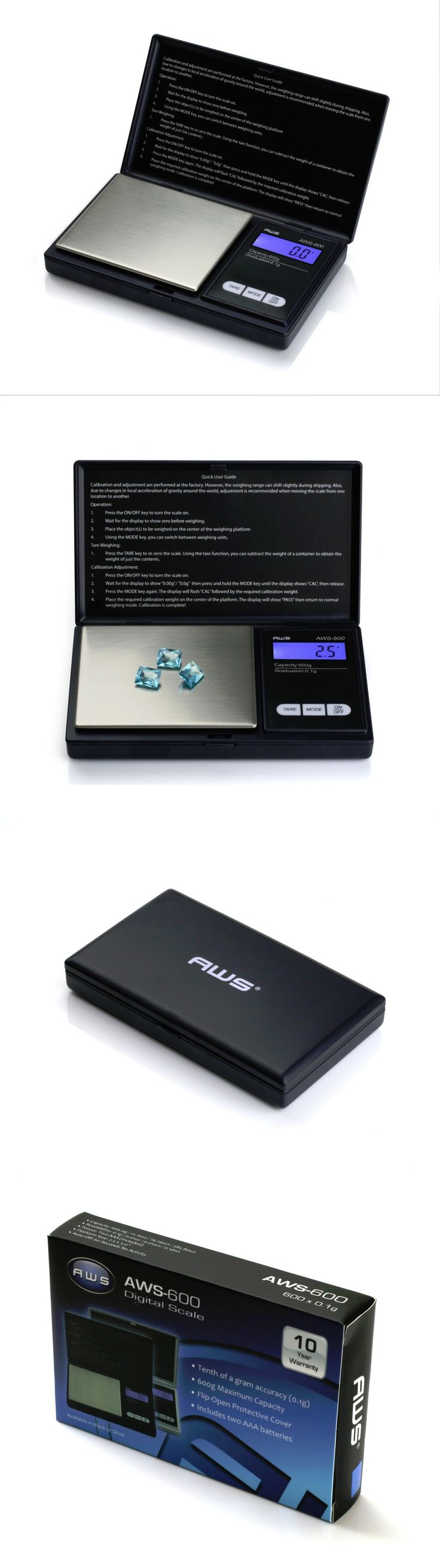 Pocket Digital Scales: Wholesale Lot Of 25 Aws 600G Gold Silver Jewelry Coin Pocket Digital Scale Grams BUY IT NOW ONLY: $174.75