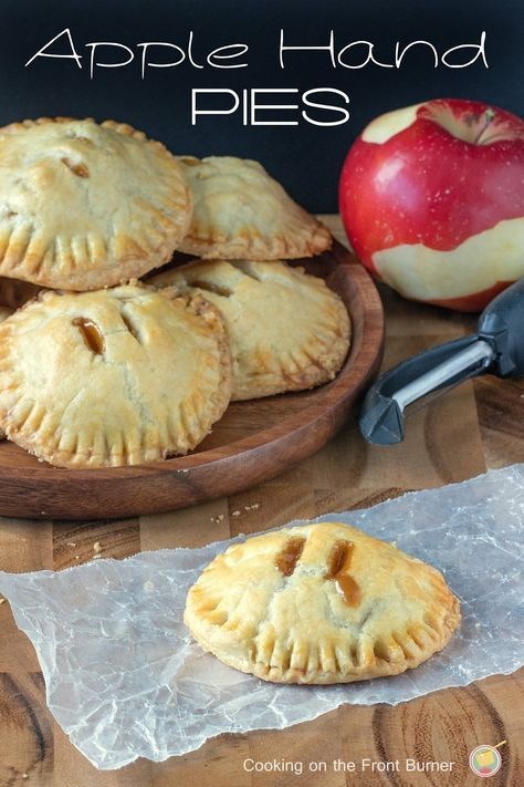 Have apples?  Then make these easy apple hand pies with a bit of caramel   Cooking on the Front Burner