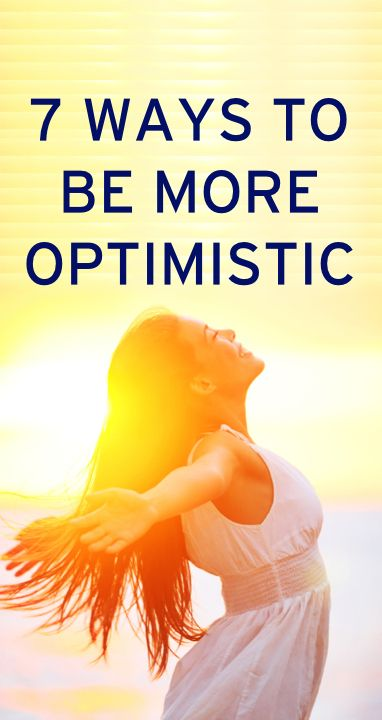 How to be a more optimistic person