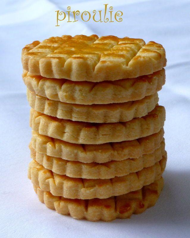 Les vrais biscuits bretons : de d�licieux petits biscuits sabl�s