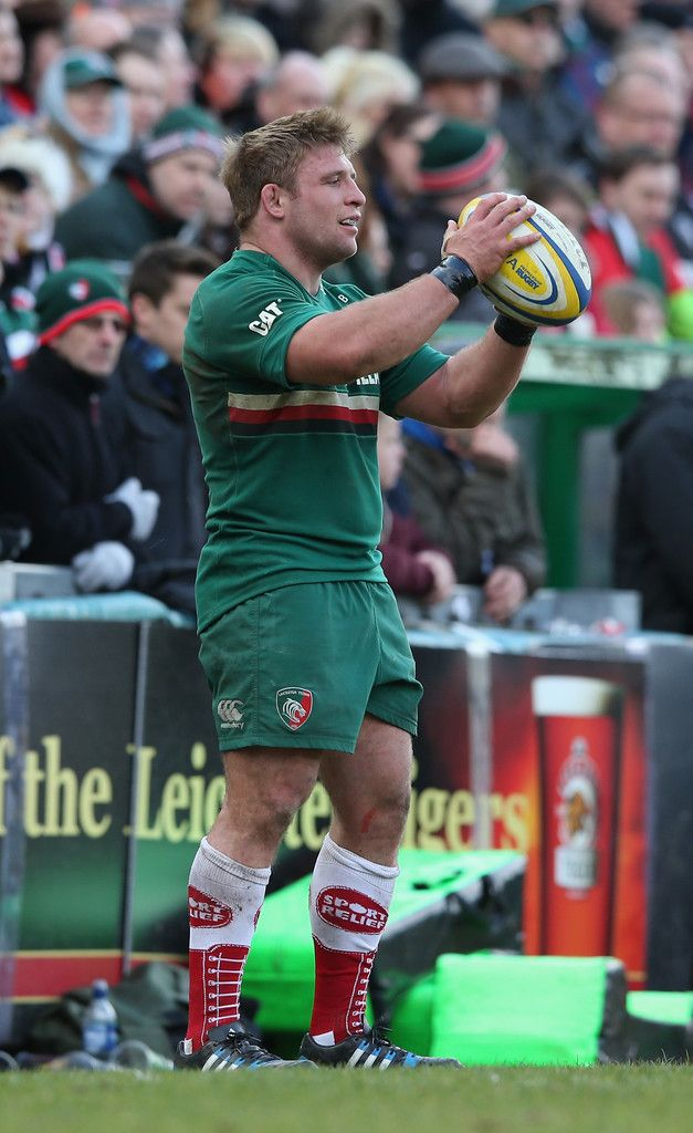 Tom Youngs Photos: Leicester Tigers v Exeter Chiefs - Aviva Premiership