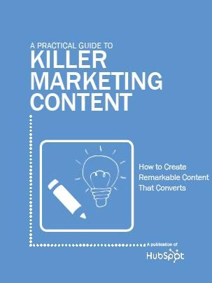 Free Ebook: A Practical Guide to Killer Marketing Content