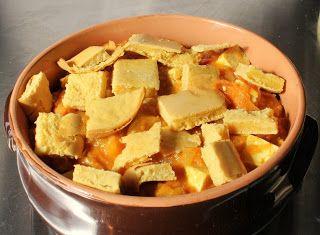 Denny Chef Blog: Zuppa di pomodoro al curry con tofu e crostini di ceci
