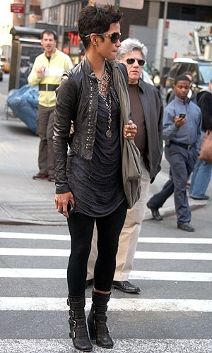 Halle Berry: leggins