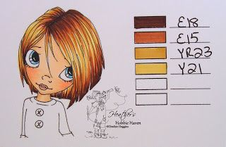Heather's Hobbie Haven - Hair Color Copic Markers