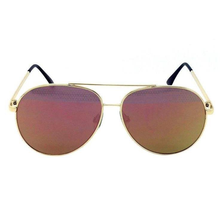 Women's Aviator Sunglasses - Gold