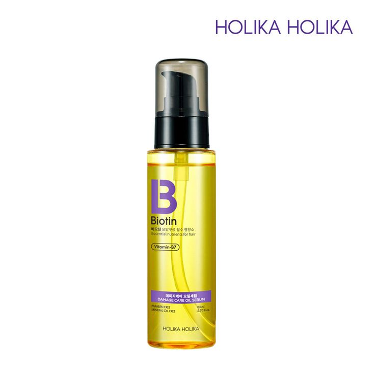 [Holika Holika] Biotin Damage Care Oil Serum 80ml / 2.70 fl. Oz. Korean Cosmetic #HolikaHolika