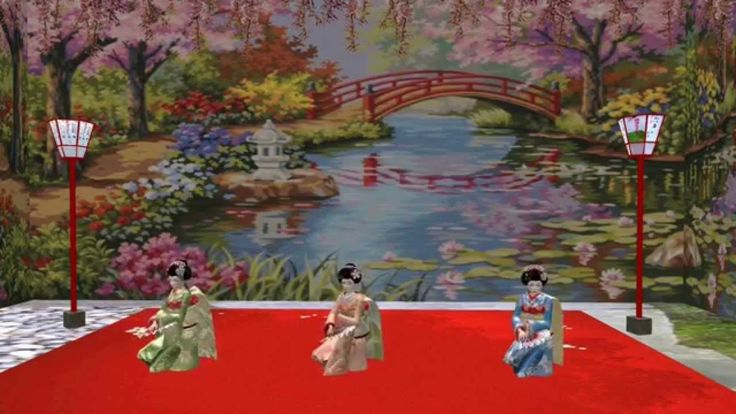 Japan Impressions of Miyagawacho - Kyo Odori Second Life ( 2014 HD)