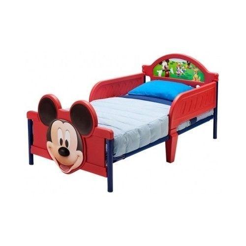 #Disney #MickeyMouse #Kids 3D #BedFrame #Bedroom #Toddler #Single #Sleeper #BedSet