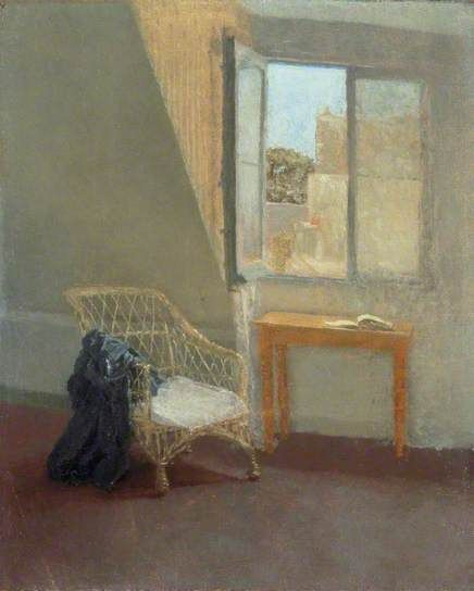 A Corner of the Artist's Room in Paris  by Gwen John       Date painted: 1907–1909