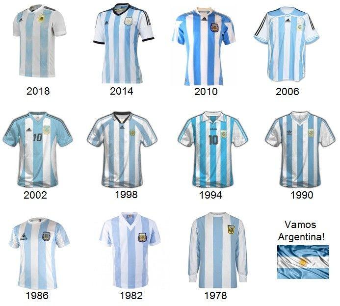 Camiseta selección Argentina de fútbol Camiseta seleccion, S