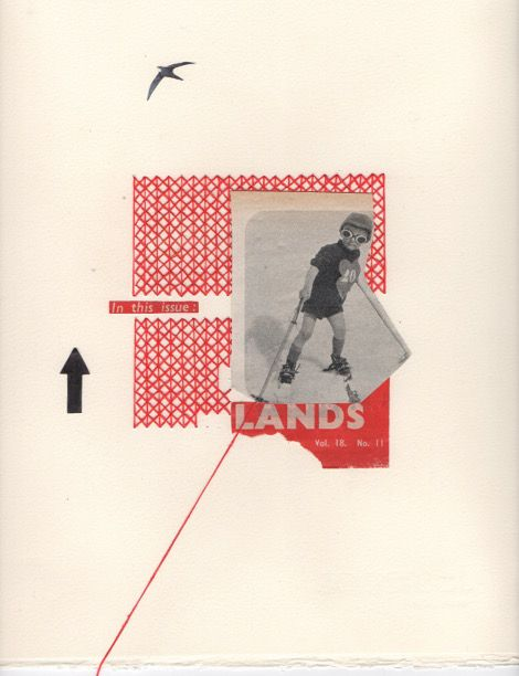 Rhed Fawell - 'Lands' - Collage 2016