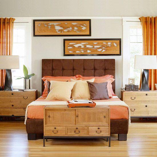 Best 25 orange bedrooms ideas on pinterest orange for Bright orange bedroom ideas