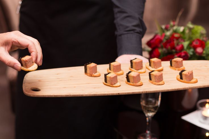 Ham hock and foie gras - completely decadent
