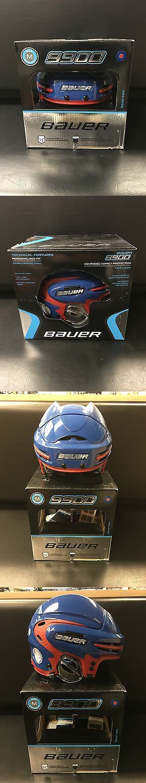 Hockey-Other 780: Bauer 9900 Hockey Helmet - Blue Red - Med -> BUY IT NOW ONLY: $79.99 on eBay!