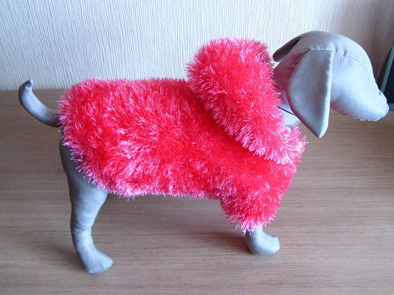 Hoodies for dogs Dog dress. Christmas Dog clothes Sweater for