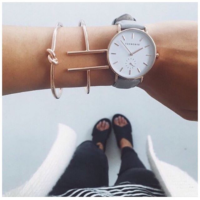 ROSE GOLD LOVIN'  Our Rose Gold Jive and Knot Bangles alongside @the_horse. Give…