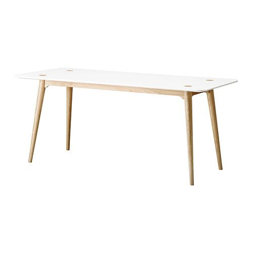 46 best images about eettafel on pinterest dining table online eames and legs - Long narrow dining table ikea ...