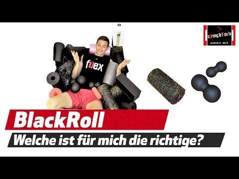 Blackroll - Blockade im Rücken lösen - Wirbelsäule mobilisieren - YouTube