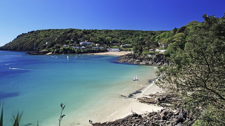It's hard to believe this beautiful beach is actually in England.  South Sands, Salcombe