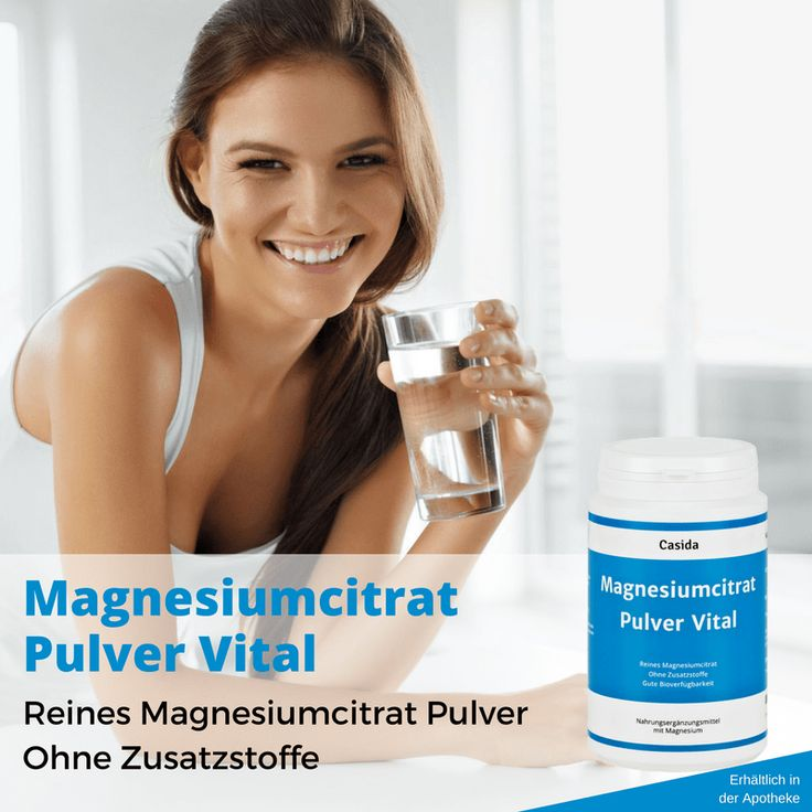 Magnesiumcitrat Pulver Vital - casida.de