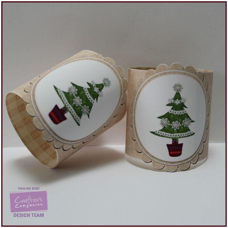 Pauline Bird, Romany Christmas CD, Christmas Table 4, Co-ordinating Papers 11 Colour 2 - #crafterscompanion #Christmas