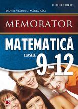 Conceputa in format de buzunar, lucrarea se adreseaza elevilor claselor IX-XII si reprezinta atat un suport teoretic bine sistematizat, necesar in pregatirea de zi cu zi a orelor de matematica, cat si unul informational, de baza pentru pregatirea evaluarilor curente si a examenului de bacalaureat. Memoratorul respecta continutul programelor scolare de matematica pentru liceu si asigura un mod mai usor de insusire a continuturilor obligatorii.