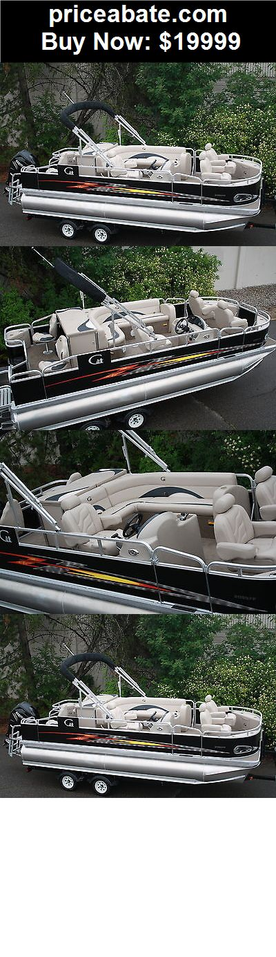 Boats: High quality-New 20 ft Tritoon pontoon boat fish and fun--Factory direct sales - BUY IT NOW ONLY $19999