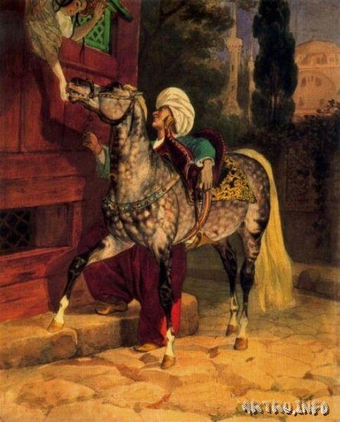 Любовное свидание в Константинополе. 1837-40