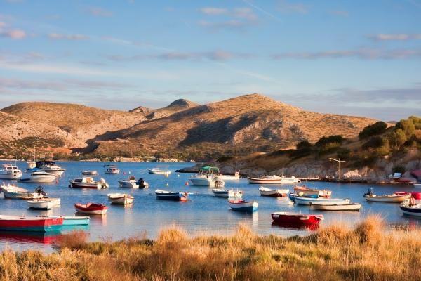 Small bay at Anavyssos_ Greece
