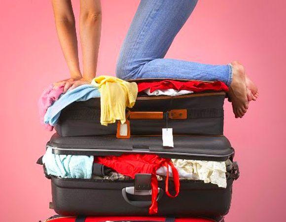 Como arrumar uma mala de viagem!