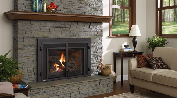 17 Best Images About Gas Fireplace Insert On Pinterest