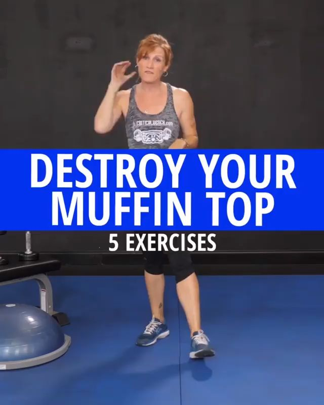 7-Day Muffin Top Burn Off Challenge