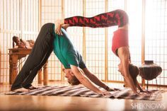 Partner yoga poses for beginners.... >> See even more at the image link