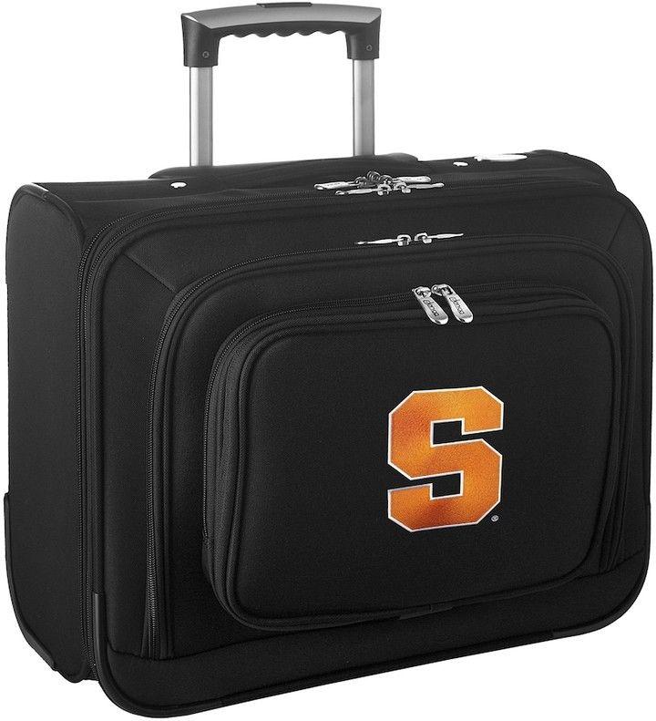 Denco Sports Luggage Syracuse Orange 16-in. Laptop Wheeled Business Case
