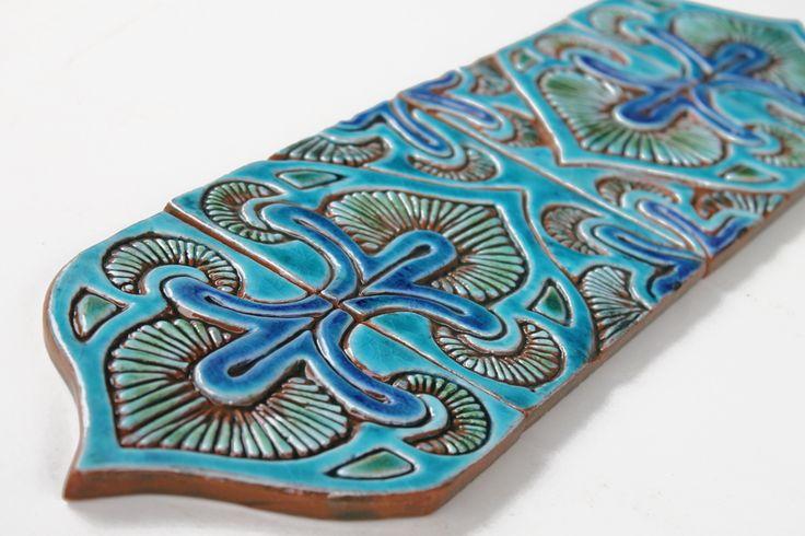 Pillar tiles set - suzani deco [15cm] - gvega