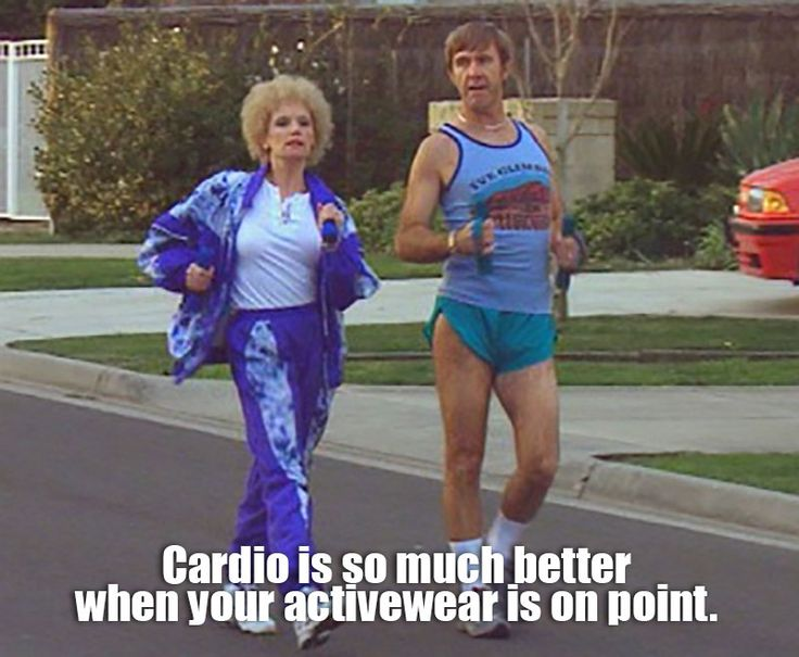 Cardio is so much better when your activewear is on point. #FitFriday