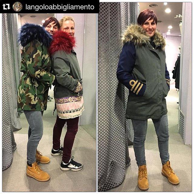 #Repost @langoloabbigliamento with @repostapp. ・・・ Frizzanti e belle..!Cesali sisters in @italogyofficial